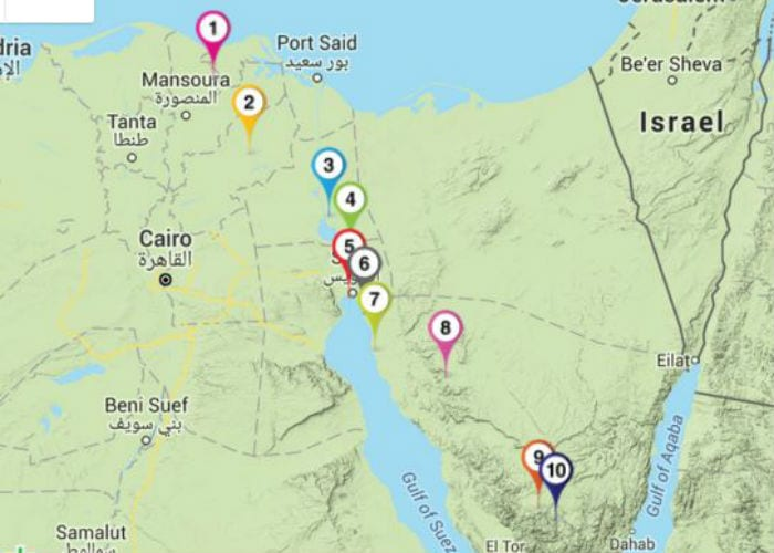From Egypt To Mount Sinai The Israel Bible