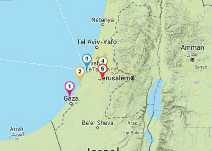 The Five Philistine Cities The Israel Bible