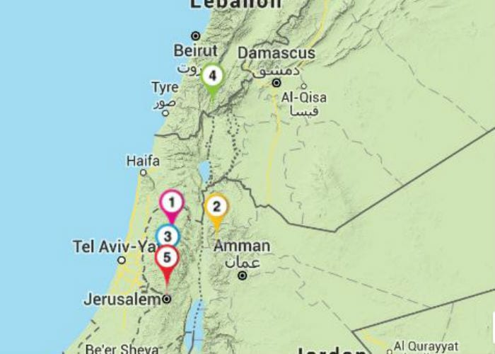 Jeroboam's Kingdom - The Israel Bible on israel divided, israel 700 bc, israel home,