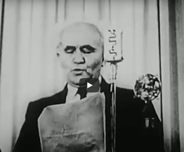 VIDEO: Proclamation of Independence – Israel May 14, 1948