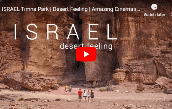 VIDEO: The Bible Comes to Life at Timna National Park