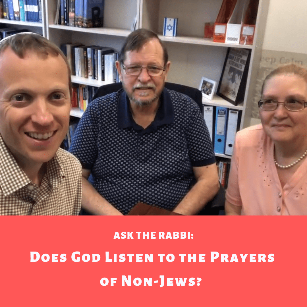 Ask the Rabbi: Does God Listen to the Prayers of Non-Jews? I Kings 8:43