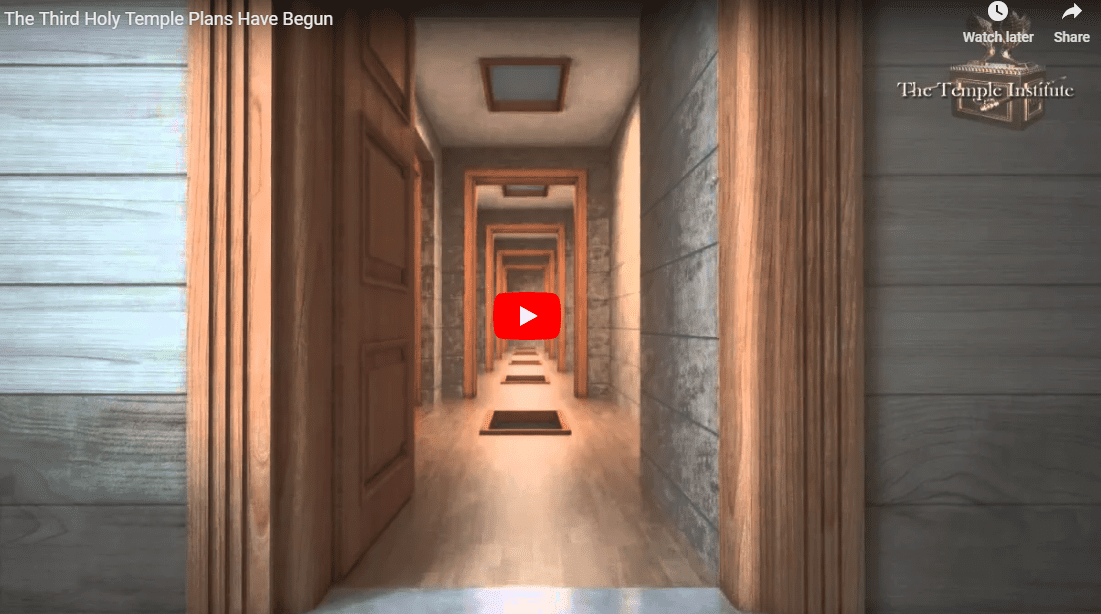 VIDEO: Plans Are Underway for the Construction of the Third Holy Temple!