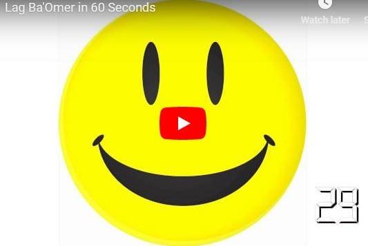 Lag Ba'Omer in 60 Seconds!