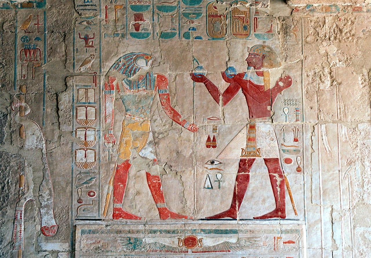 Luxor,_hieroglyphic_decorations_inside_the_Temple_of_Hatshepsut,_Egypt,_Oct_2004_A