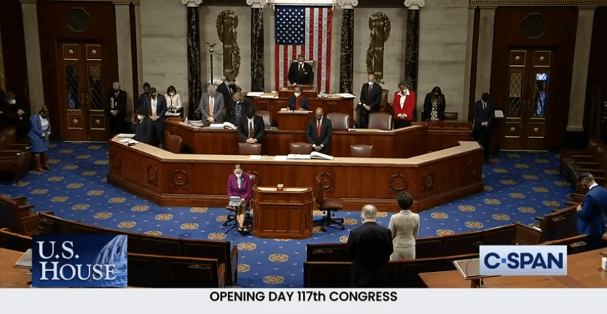 """Congressman's Embarrassing Prayer Ends with """"A-Man and A-Woman"""""""
