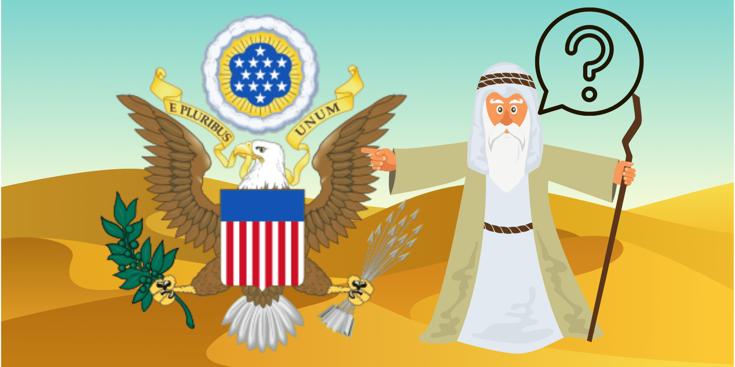 great-seal-of-usa-and-moses-with-desert-backdrop