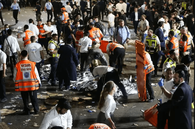 Prayer for the Victims of the Meron Tragedy