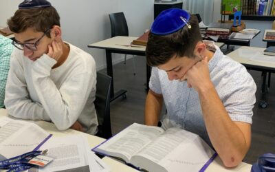 """Pre-army students begin intensive daily study of """"The Israel Bible"""""""