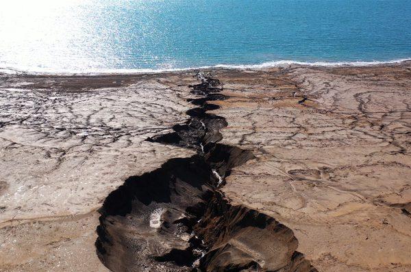 Jordan River gorge into the Dead Sea (Shutterstock)